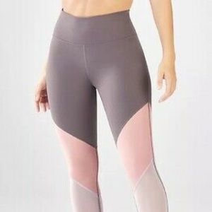 Fabletics High Waisted Mesh Brogan Legging